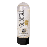 Massage & Glide Gel 2 in 1 Массажный гель-лубрикант 2 в 1 на водной основе 200 мл.
