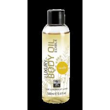 Luxury Body Oil edible съедобное масло с ароматом Ванили 100 мл.