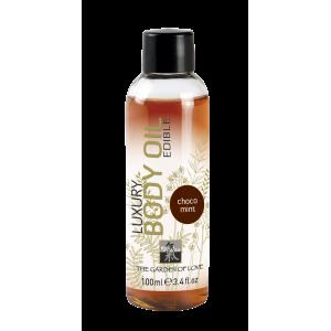 Luxury Body Oil edible съедобное масло с Шоколадно-мятным ароматом 100 мл.