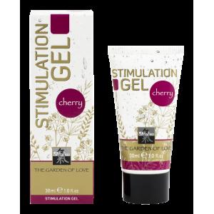 Stimulation Gel гель для интимной стимуляции Вишневый 30 мл.