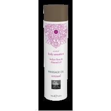 Массажное масло sensual - Индийская Роза & Масло миндаля 100 мл.