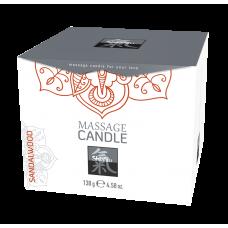 Массажная свечка с ароматом Сандала. 130 гр.