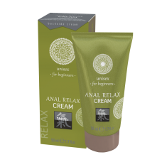 Shiatsu ANAL RELAX CREAM unisex for beginners Интимный крем 50 мл.
